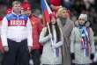 Athlètes russes aux JO dePyeongchang.