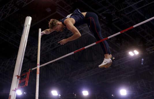 Kevin Mayer s'est fait peur, mais il est devenu champion du monde en salle d'heptathlon.