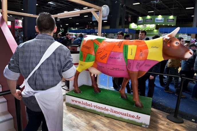 Au Salon de l'agriculture, à Paris, le 24 février.