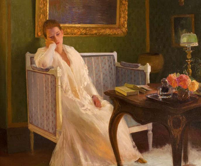 « L'Ennui» (1893), de Gaston La Touche.