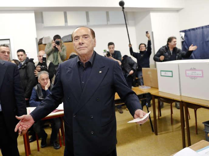 Pour les électeurs pro berlusconi « une page de l italie se