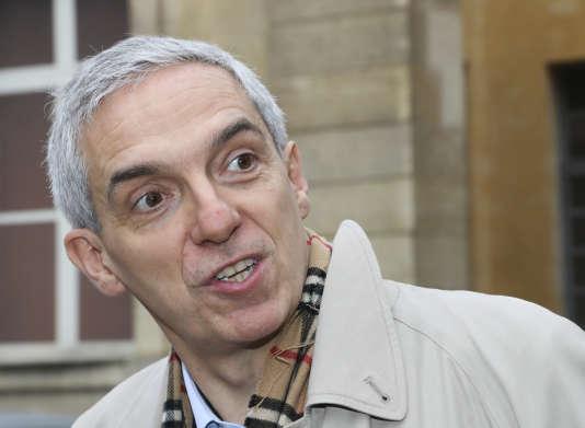 Alexandre Saubot, vide-président du Medef,au ministère du travail le 13 décembre 2017. Il a annoncé le 4 mars sa candidature à la succession de Pierre Gattaz.