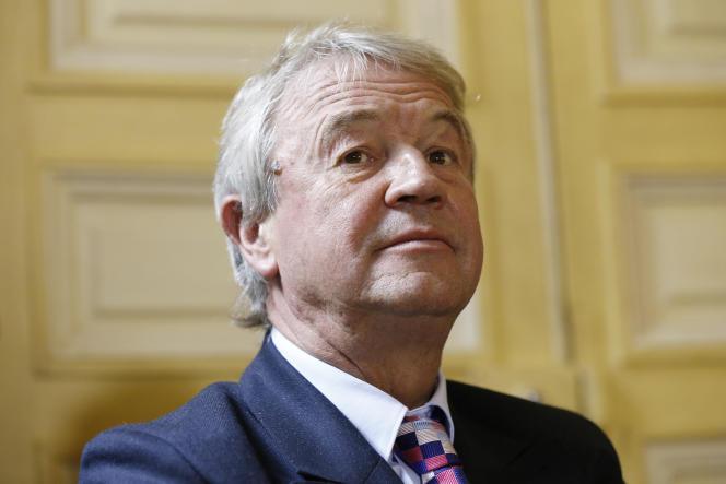 Antoine Gallimard lors d'une conférence de presse à Paris, le 9 octobre 2014.