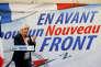Marine Le Pen, lors d'un rassemblement à Laon, le 18 février 2018.