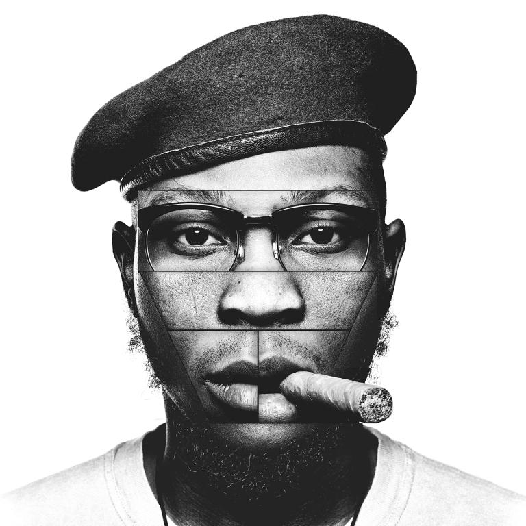 Pochette du dernier album de Seun Kuti intitulé «Black Times», sorti en mars 2018.