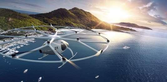 Le modèle 2X de Volocopter.