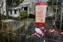 Les lieux de la fouille àTraon-ar-Velin (Finistère) ont été fermés au public par la police judiciaire.