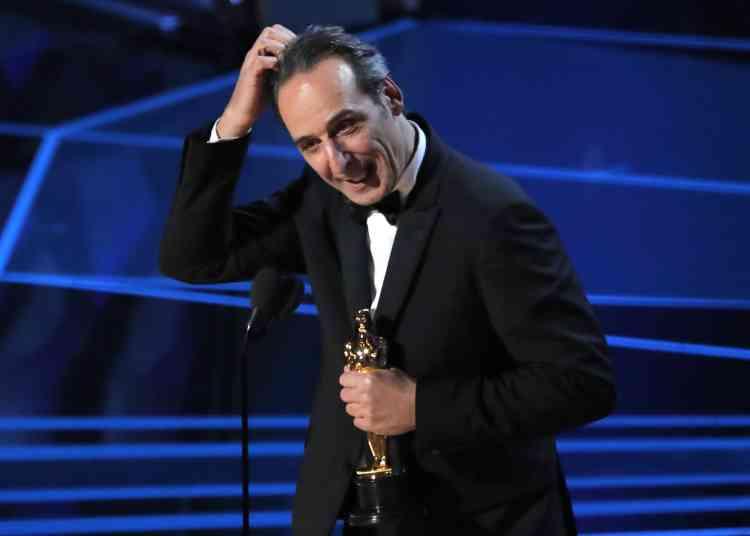 Le Français Alexandre Desplat remporte son deuxième Oscar, cette fois pour la musique de« La Forme de l'eau».