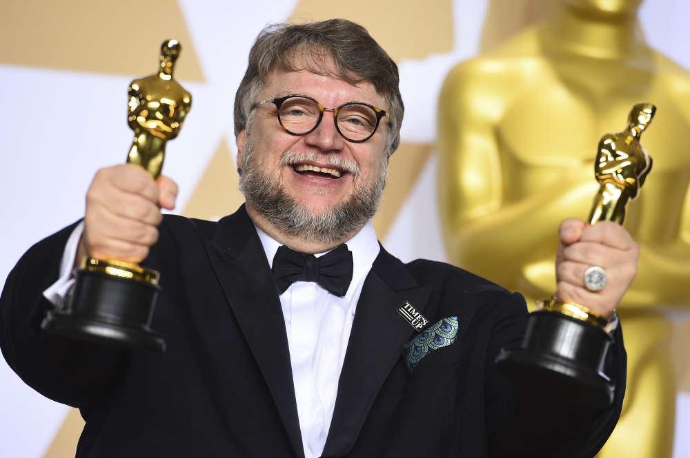 Guillermo del Toro, qui a décroché les prix de meilleur réalisateur et meilleur film avec «La Forme de l'eau», estconnu pour les monstres qui peuplent ses œuvres.