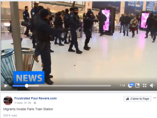Capture de la vidéo de Frustrated Paul Revere.com.