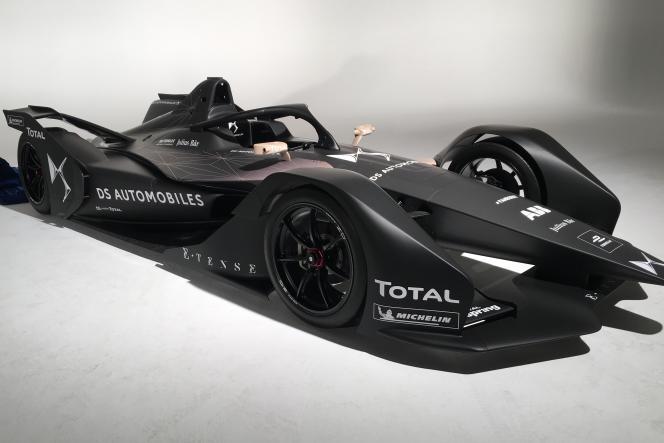 La formule E de deuxième génération, saison 2019, dans les studios d'Aubervilliers, le 28 février.