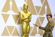 Frances McDormand, lauréate de l'Oscar de la meilleure actrice, à Los Angeles, le 5 mars 2018.