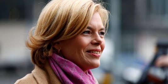 Julia Klöckner, la nouvelle ministre de l'agriculture, à Berlin, le 5 mars.