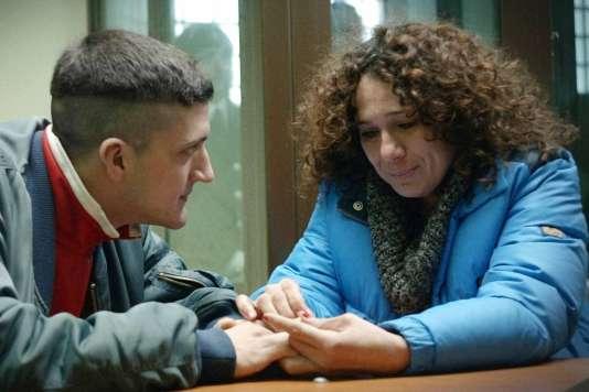 Andrea Lattanzi et Francesca Antonelli dans le film italien de Dario Albertini,«Il figlio, Manuel» («Manuel»).