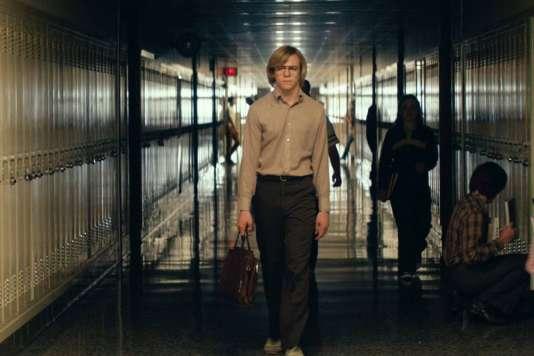 Jeffrey Dahmer, interprété par Ross Lynch, dans le film américain deMarc Meyers,«My Friend Dahmer».