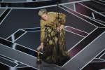 Frances McDormand, dimanche 4 mars, lors de la cérémonie des Oscars.
