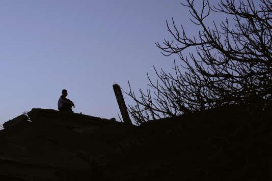 Une scène extraite du documentaire algérien de Djamel Kerkar,«Atlal».