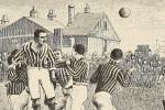 Gravure de 1894 tirée de «Athletics and football» par Montague Shearman