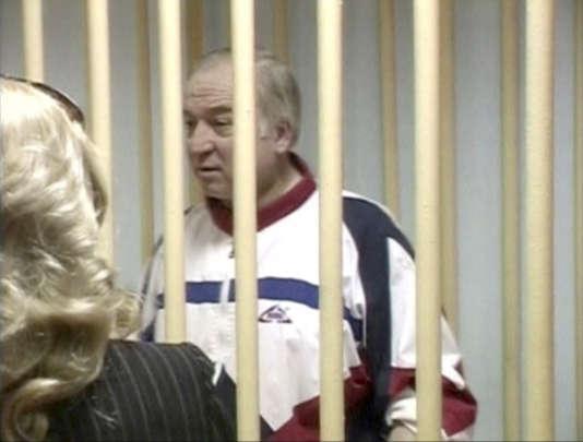 Sergueï Skripalà Moscou, au moment de son procès, le 9 août 2006.