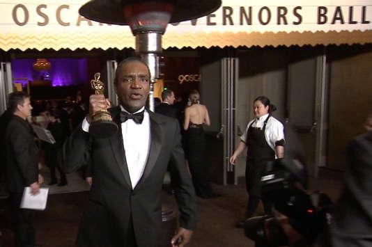 Une image de Terry Bryant, le voleur présumé de l'Oscar de Frances McDormand, extraite d'une vidéo de Reuters, à Los Angeles, le 5 mars 2018.