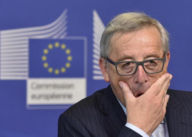 Jean-Claude Juncker, président de la Commission européenne, à Bruxelles.