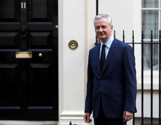 Bruno Le Maire, le 6 mars à Downing Street.
