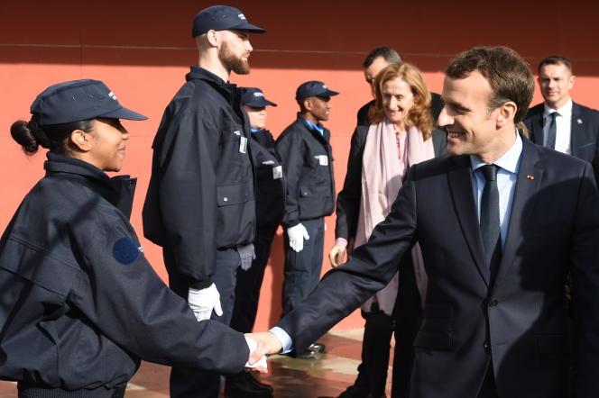 Emmanuel Macron, le 6 mars 2018 à Agen.