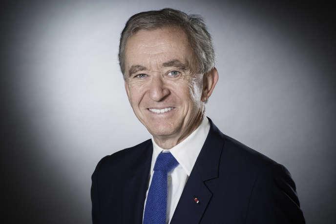 Bernard Arnault, le 19 septembre 2017 à Paris.