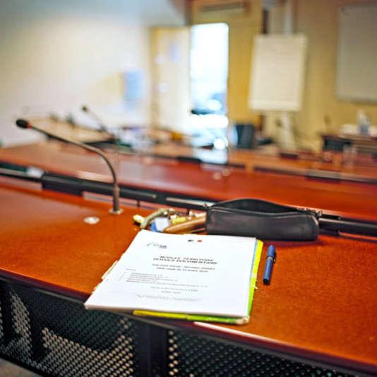 Dans une salle de classe de l'Ecole nationale d'administration.