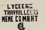 Affiche conçue par l'atelier populaire de Marseille, 1968.