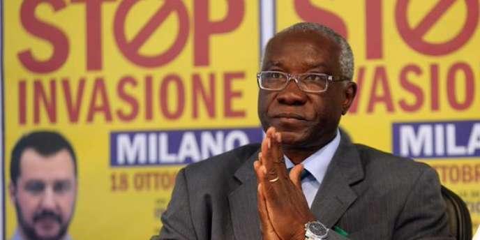 Tony Iwobi,premier sénateur noir de l'histoire italienne.