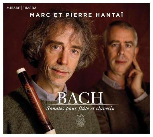 Pochette de l'album« Sonates pour flûte et clavecin», de Bach, par Marc et Pierre Hantaï.