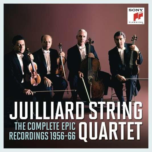 Pochette de l'album«The Complete Epic Recordings 1956-66», du Juilliard String Quartet.