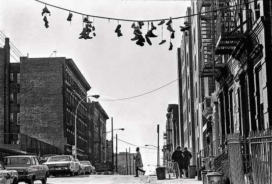 Angle de Eagle Avenue et de la 161st Street, dans le South Bronx.