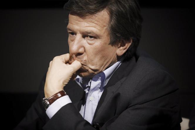 Le PDG du groupe TF1, Gilles Pelisson, à Paris en mai 2017.