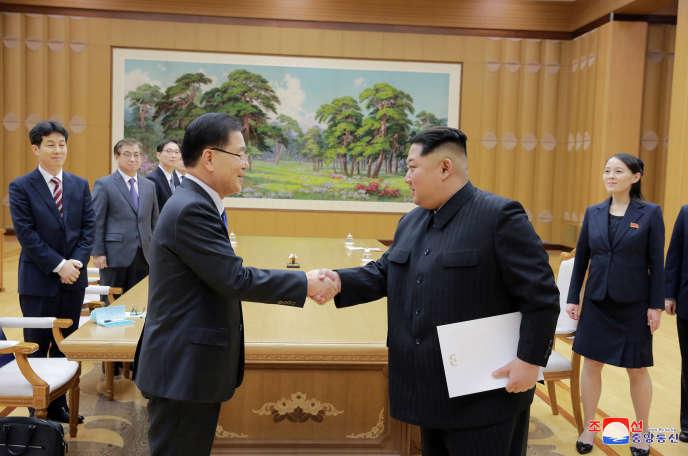 La Corée du Nord et la Corée du Sud se sont entendues sur la tenue d'un sommet, fin avril.