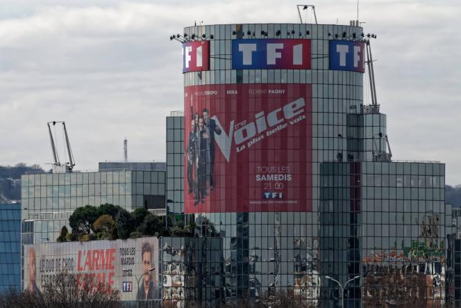 Le siège de TF1 à Boulogne Billancourt.