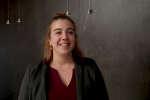 Lucie Cordani, enseignante d'activités physiques adaptées et santé, elle vient de créer sa société APA Santé-Lucie et témoignait à O21, à Bordeaux.