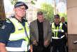 Le cardinal australien George Pell arrive au tribunal de Melbourne, en mars 2018.