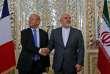 Le ministre français des affaires étrangères, Jean-Yves Le Drian (à gauche), et son homologue iranien, Mohammad Javad Zarif, à Téhéran, le 5 mars.