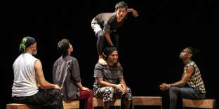 Le spectacle «PacifikMeltingPot » est porté par dix artistes de Nouvelle-Calédonie, Nouvelle-Zélande et Japon.