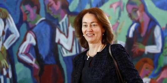 Katarina Barley, ministre de la justice, à Berlin, le 7 mars.