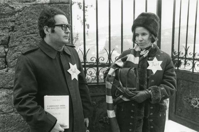 Serge et Beate Klarsfeld, le 8 janvier 1972.