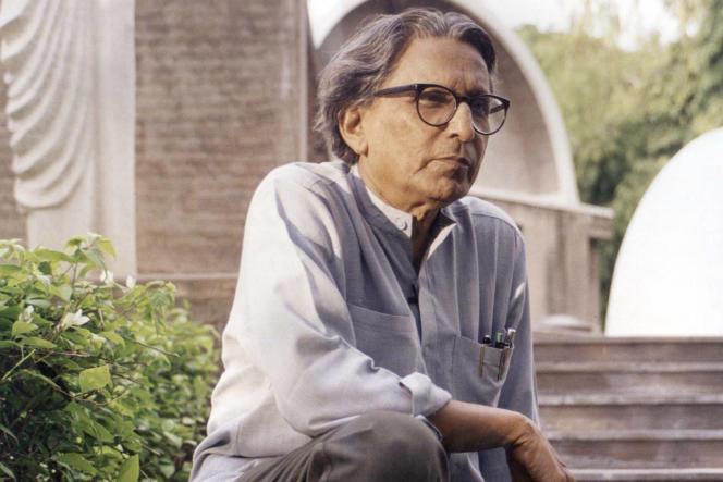 L'architecte Balkrishna Doshi, lauréat du prix Pritzker 2018.