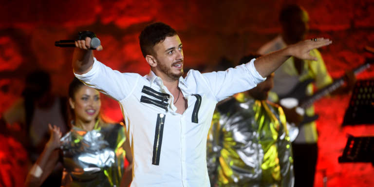 Le chanteur marocain Saad Lamjarred au Festival international de Carthage, en Tunisie, le 30 juillet 2016.