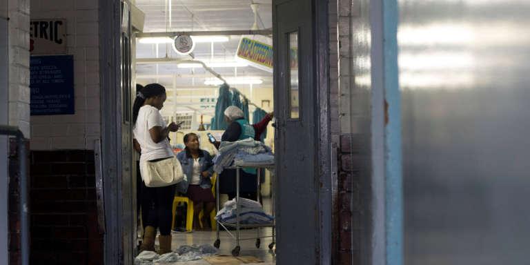 Un hôpital à Durban, en Afrique du Sud, en octobre 2017.