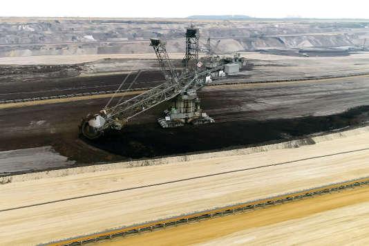 Mines à ciel ouvert de Garzweiler, près de Cologne.