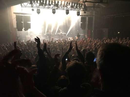 900 spectateurs se sont déplacés pour le concert Strasbourgeois de Bertrand Cantat, mercredi 7 mars.