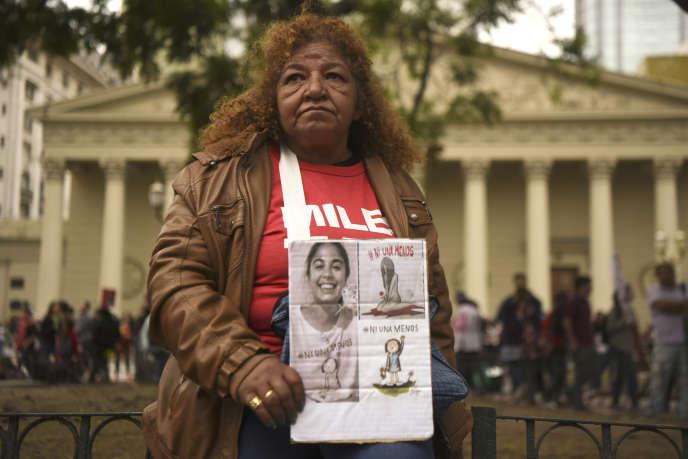 Manifestation à Buenos Aires, le 11 avril 2017.