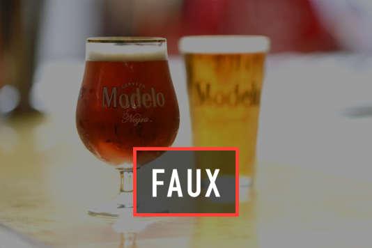 De nombreux articles parus récemment font dire à une étude californienne que boire deux verres d'alcool par jour augmenterait les chances de vivre à plus de 90 ans. Ce qui est complètement faux.